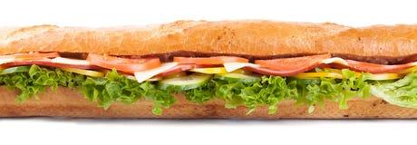 Duża francuska kanapka zdjęcia stock