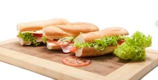 Duża francuska kanapka Zdjęcie Royalty Free