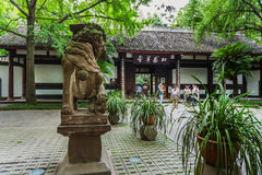Du Fu Thatched Cottage in Chengdu, Sichuan, China Royalty Free Stock Images