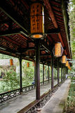 Du Fu thatched Cottage Chengdu Sichuan China Royalty Free Stock Image