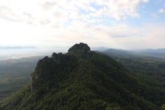 Duża góra przy chiangmai fotografia royalty free