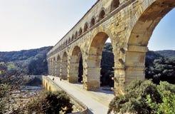 du Gard pont Στοκ φωτογραφίες με δικαίωμα ελεύθερης χρήσης