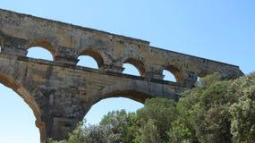 du Gard pont Στοκ Φωτογραφία