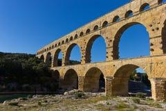 du Gard pont στοκ εικόνα με δικαίωμα ελεύθερης χρήσης