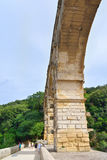 du Gard pont Στοκ Εικόνες