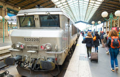 du gare nord Παρίσι Στοκ Εικόνα