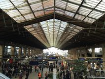 du gare nord paris Royaltyfri Foto