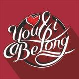 Du & I är long_3 Royaltyfria Foton