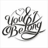 Du & I är long_5 Arkivbilder