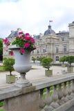 du jardin luxembourg paris Royaltyfri Foto