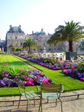 du Jardin Luxembourg Paris Obraz Royalty Free
