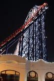 Duża Jeden kolejka górska przy Blackpool, UK Zdjęcia Royalty Free