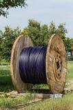 Duża kablowa rolka Zdjęcia Stock