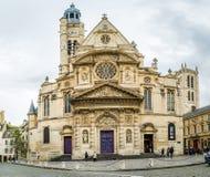 du Kościół w Paryż zdjęcie royalty free