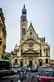 du Kościół w Paryż obraz royalty free
