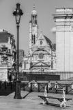 du Kościół w Paryż Francja Obrazy Royalty Free