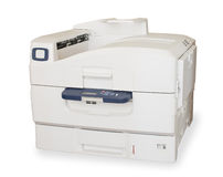 Duża kolor drukarka laserowa Fotografia Royalty Free