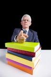 Du måste läsa böcker Arkivbild