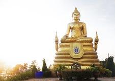 Duża marmurowa Buddha statuy Phuket wyspa, Tajlandia Obraz Stock