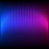 Du nord-lumière-brûler-lumineux-fond-bleu-pourpre Photos libres de droits