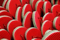 dużo czerwieni Zdjęcie Stock