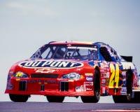#24 Du Pont Chevrolet Monte Carlo Car, dat door Jeff Gordon wordt gedreven Stock Afbeeldingen