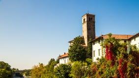 Du pont du diable de Cividale del Friuli photos stock