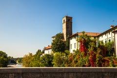 Du pont du diable de Cividale del Friuli photo libre de droits