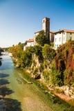Du pont du diable de Cividale del Friuli photographie stock libre de droits