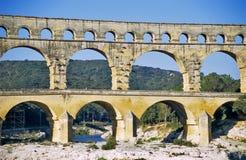 du pont Gard Obraz Royalty Free