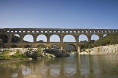 du pont Gard obrazy stock