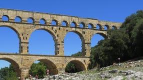 du pont Gard Zdjęcie Stock