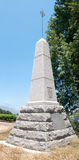 Du Preez family Monument in Paarl Stock Image