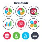 Du är här symboler Tecken för informationsanförandebubbla Arkivbild