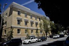 Du sanatorium aux aînés avec le logement d'incapacités photos libres de droits