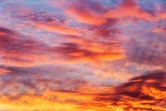 Du septième au ciel merveilleux Photos libres de droits
