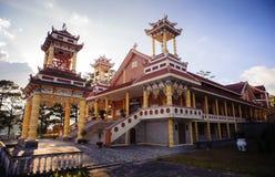 0028-Du Sinh - igreja oriental do estilo - cidade de Dalar Imagem de Stock