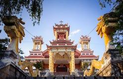0029-Du Sinh - oosterse stijlkerk - Dalar-stad Royalty-vrije Stock Afbeeldingen