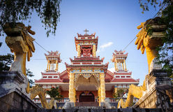 0029-Du Sinh - oriental style church - Dalar city Royalty Free Stock Images