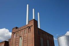 Duńska elektrownia od Dani Zdjęcie Stock