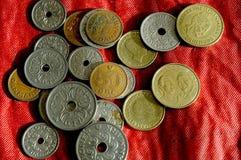 Duńska monety waluta Zdjęcie Stock
