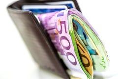 Duńska waluta od Dani Zdjęcia Stock