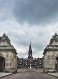 Duński Parlament Christiansborg, Zdjęcie Royalty Free