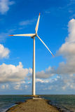 Duński silnik wiatrowy Fotografia Royalty Free