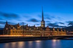Duński stary parlamentu budynek Fotografia Royalty Free