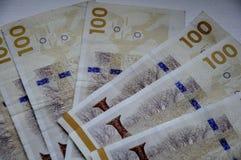 Duńskie walut notatki Zdjęcie Royalty Free