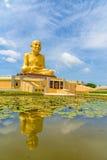 Duża statua Luang Phor Thuad w Ang pasku, Tajlandia Obrazy Royalty Free