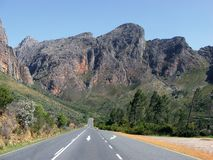 Du Toitskloof road Stock Photos