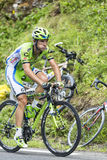 彻尔du Tourmalet -环法自行车赛的Marco Marcato 2015年 免版税库存照片