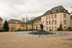 du ville Luxembourg Zdjęcia Royalty Free